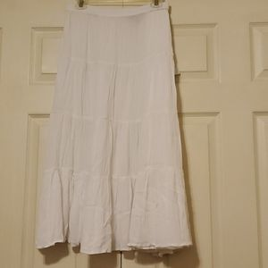WOMAN WITHIN PURE WHITE MAXI SKIRT
